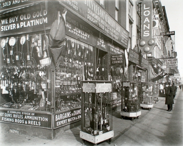 pawn shop nypl berenice abbott federal art project 1937