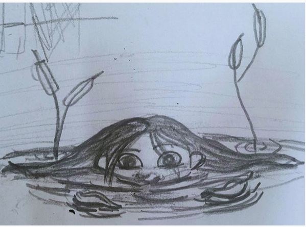 """Some Unexpected #FlashFiction: """"The Little Girl in thePond"""""""