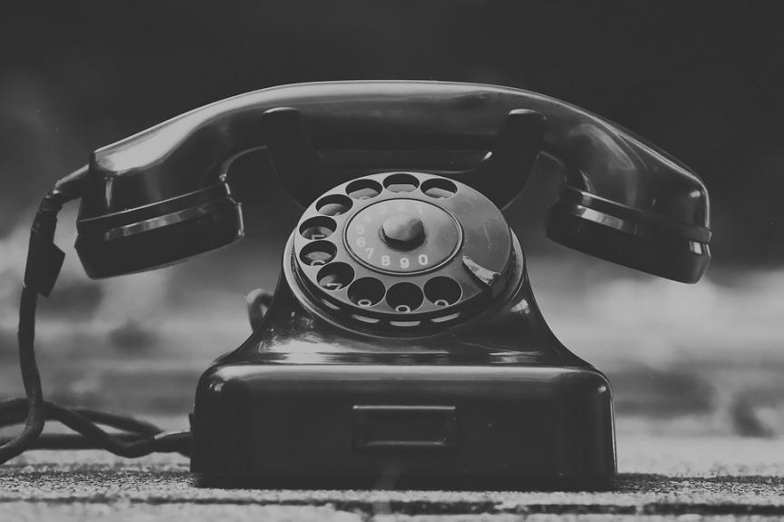 Friday Fiction Rotary Phone