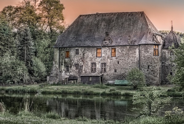 Fiction Friday Old German Manor House.jpg