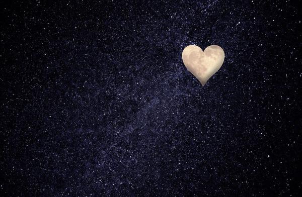 Friday Fiction Heart Moon Maybe.jpg