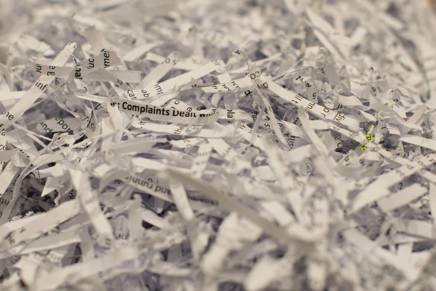 Shredded Paper by campbellstogether on Pixabay