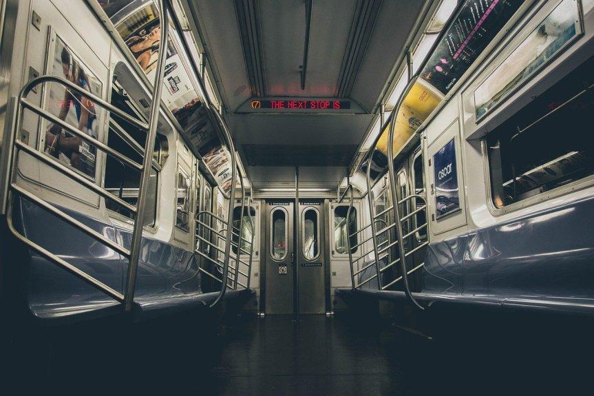 Subway Car by irogovsyannykov on Pixabay
