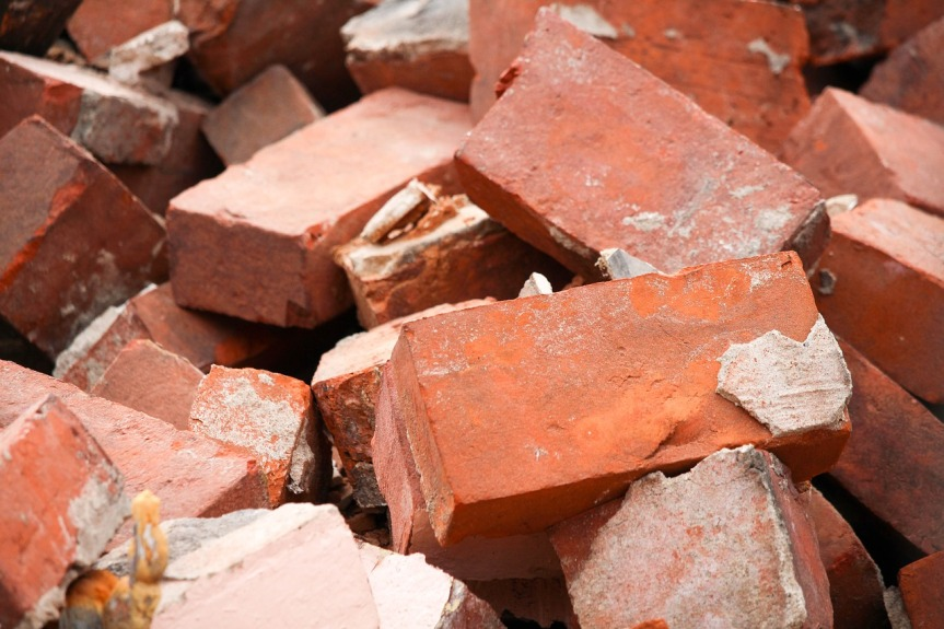 Brick Pile by Greg Reese on Pixabay