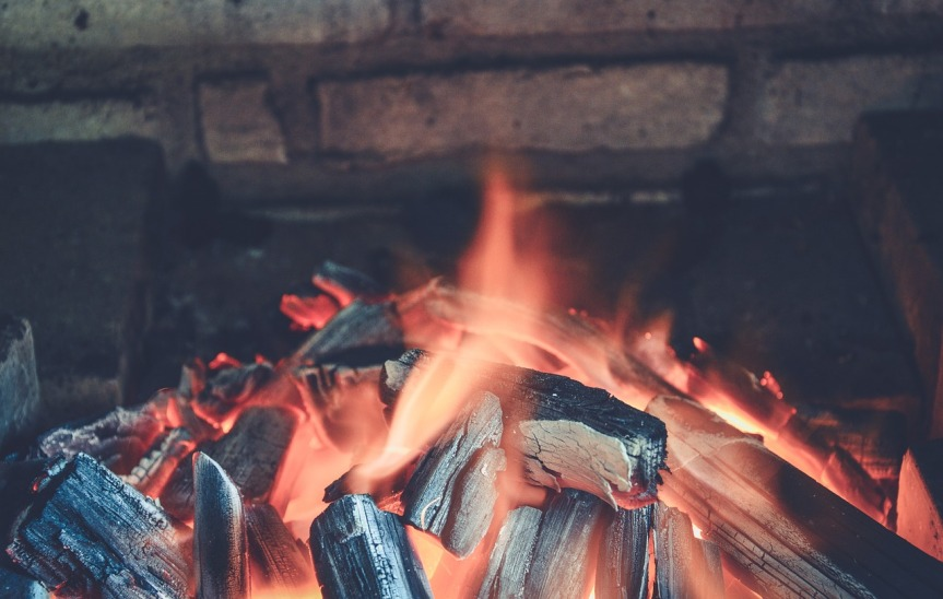 Charcoal Wood Fire by Pexels on Pixabay