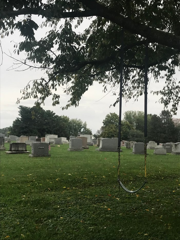 Swing by a Graveyard by Marisa Biddings on Discord